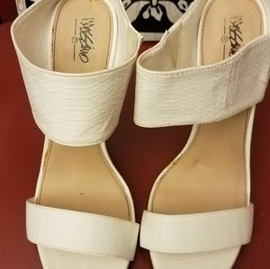White, Size 10, Mossimo Heels